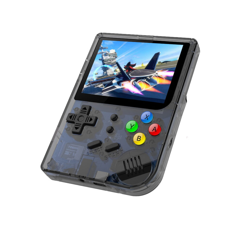 RG300 OpenDingux Retro Gaming Portable Handheld - Transparent playing a Retro Game (4115258015798)