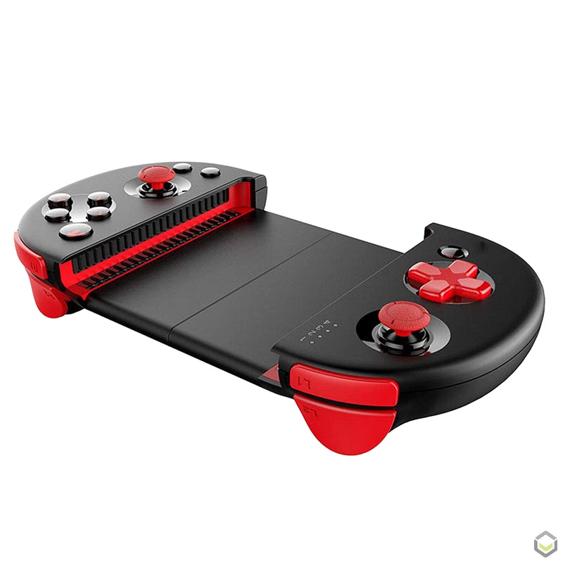 iPega 9087 Bluetooth Gamepad for Android and iOS - Showing Holder and Shoulder Buttons (4216013324342)