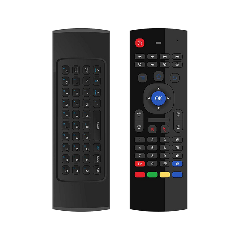 MX3 Air-Mouse Remote Controller w/ FULL QWERTY Keyboard