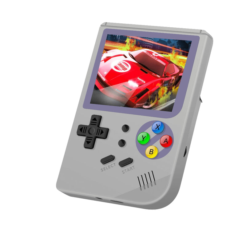 RG300 OpenDingux Retro Gaming Portable Handheld - Grey playing a Retro Game (4115258015798)