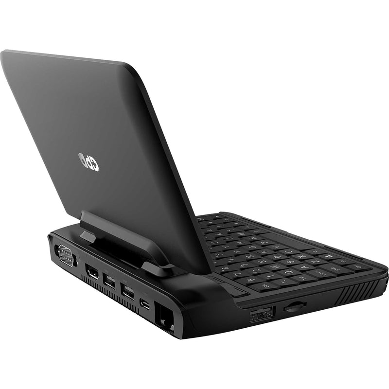 GPD Micro PC shown from a side featuring a MicroSD/TF Card Slot and USB Port (4116206977078)