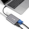 DroiX FX8 USB Type C Hub for Windows and Mac - Connected to Macbook with VGA,HDMI, USB Type-C and USB Port (4343658905654)