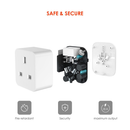 DroiX A9 Smart Wi-Fi Plug - Showing Components