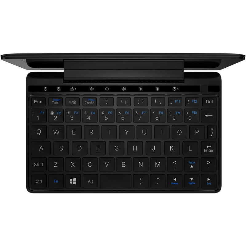 GPD Pocket 2 Amber Black Laptop showing Keyboard (4163202842678)