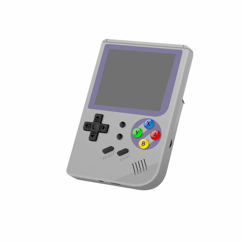 RG300 OpenDingux Retro Gaming Portable Handheld - Grey showing Gaming buttons (4115258015798)