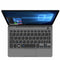 GPD P2 Max Black opened up showing Touchscreen display, QWERTY Keyboard and Trackpad (4115641172022)