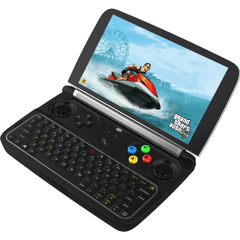 GPD WIN 2 Windows Gaming handheld pictured playing GTA V (4163177119798)