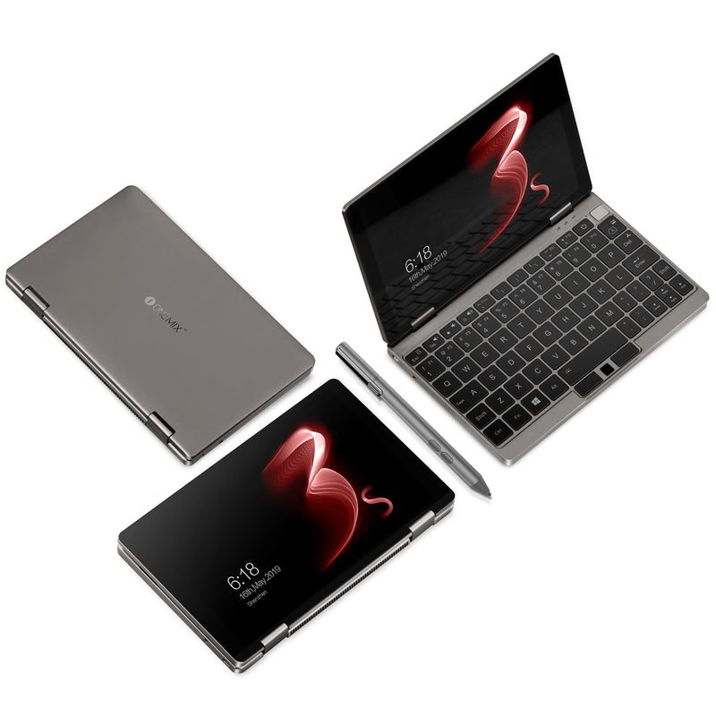 One Netbook One Mix 3S Platinum Edition in 2 YOGA Modes (Normal and Tablet) (4116259242038)
