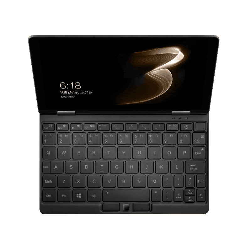 One Netbook Mix 3S Windows 10 UMPC YOGA Tablet showing Backlit Keyboard, fingerprint sensor and HQ Display (4116238270518)
