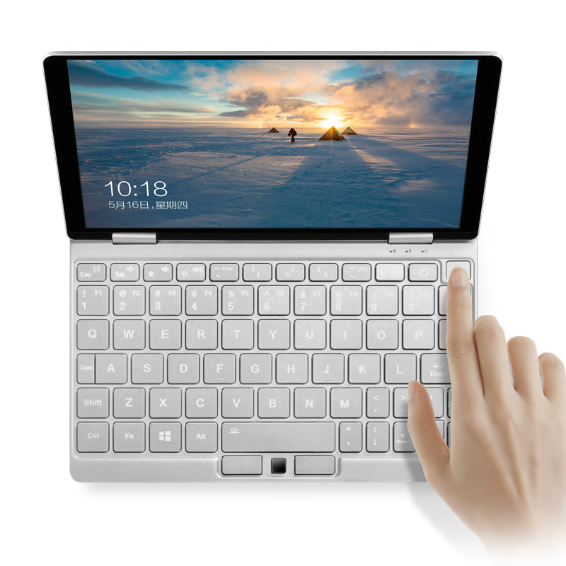 One Netbook One Mix 3 shown using Fingerprint Sensor via Windows Hello (4098702934070)