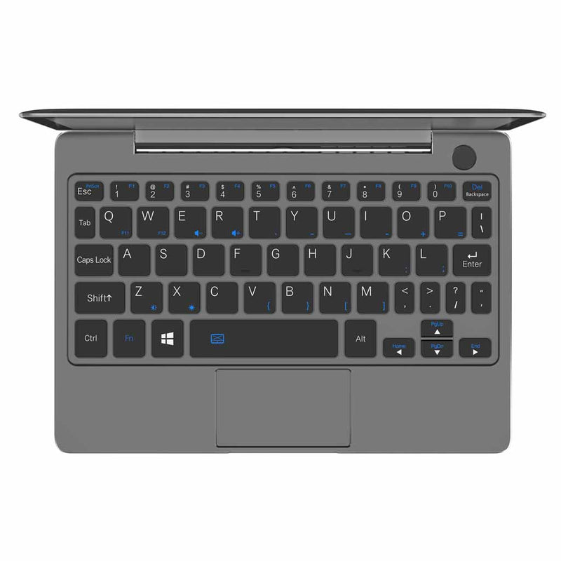 GPD P2 Max Black QWERTY Keyboard layout and Fingerprint sensor compatible with Windows Hello (4115641172022)