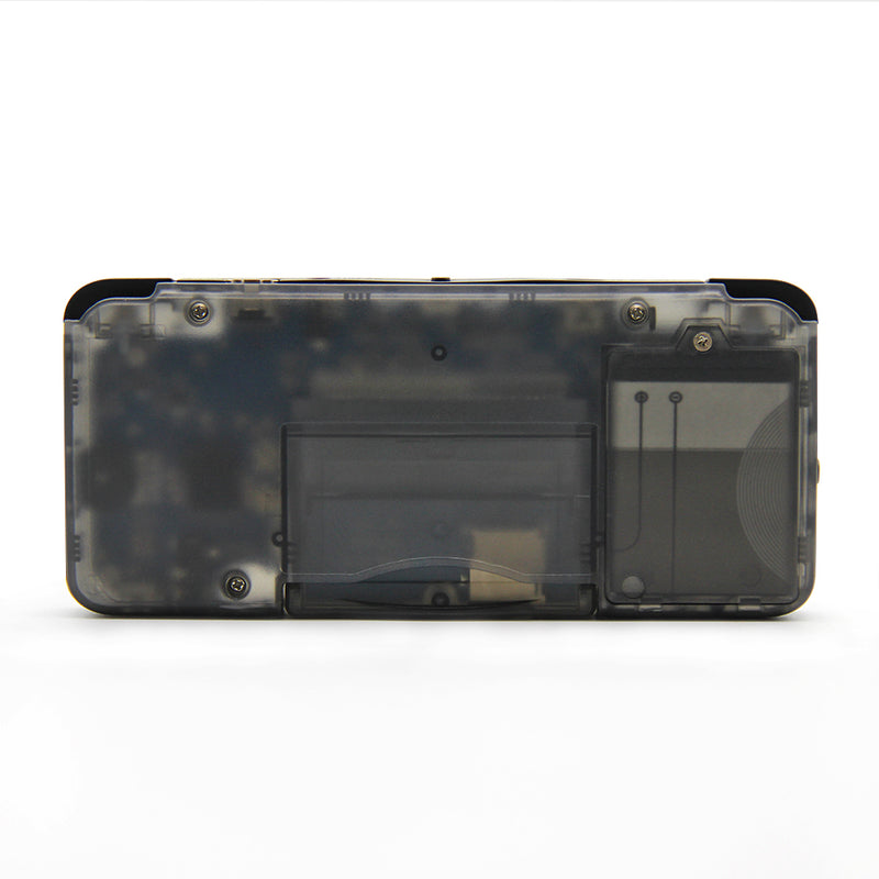 DroiX RetroGame RS-97 PRO Transparent Handheld Portable Console showing Battery Compartment (4178812108854)