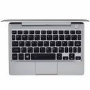 GPD P2 Max Silver QWERTY Keyboard layout and Fingerprint sensor compatible with Windows Hello (4115641172022)
