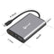 DroiX FX8 USB Type C Hub for Windows and Mac - Dimensions (4343658905654)