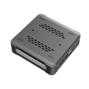 DroiX CK1 Mini PC Windows 10 NUC Up to Intel Core i7 Chipset, 512GB PCI-E NVMe SSD, 16GB DDR4 RAM - Showing bottom with Air Vents
