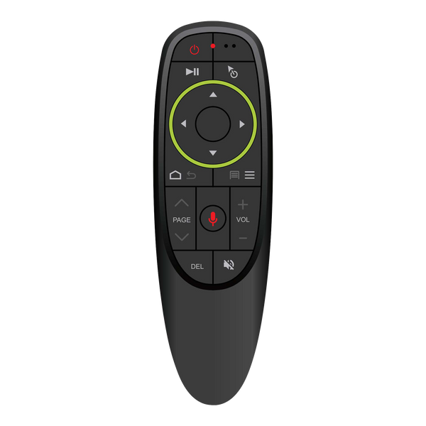 DroiX G10 Air-Mouse showing Buttons - Front View (4115241271350)