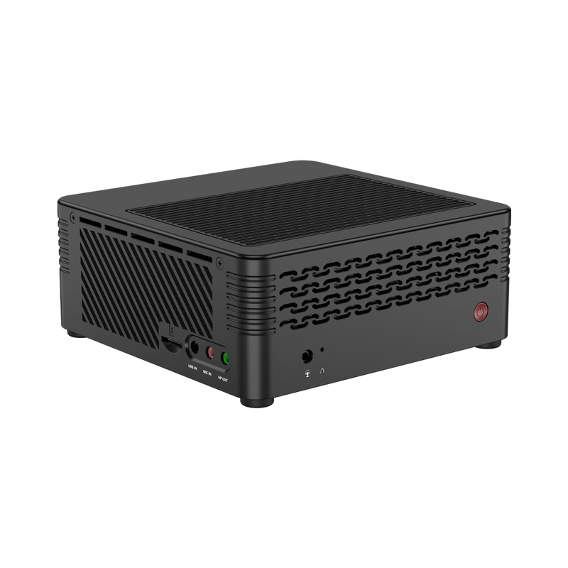 MINISFORUM H31 Mini PC - Shown at angle