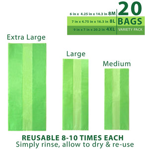 Debbie Meyer® Green Bags® 20pc Set