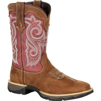 Durango - Womens Red Rebel Boots at Buffalo Bills Western