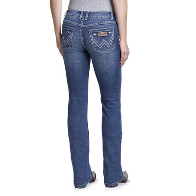 Wrangler - Retro Mar Arrow Mid Rise Jeans at Buffalo Bills Western