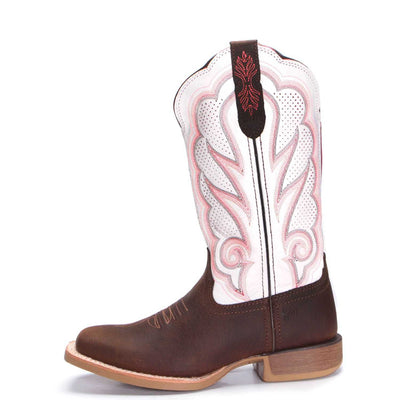 Durango - Womens White Rebel Pro Vented Boot at Buffalo Bills Western