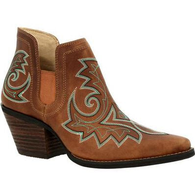 Durango - Womens Crush Chestnut Brown Booties at Buffalo Bills Western