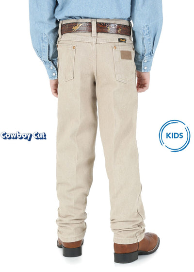 Wrangler - Boys Tan Original Cowboy Cut Jeans at Buffalo Bills Western