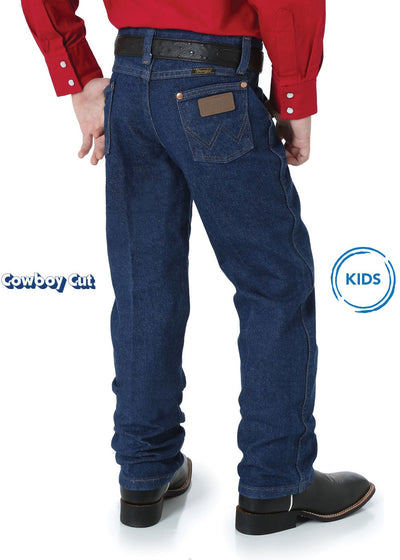 Wrangler - Kids Original Cowboy Cut Jeans Slim Fit 13MWZBPSLI at Buffalo Bills Western