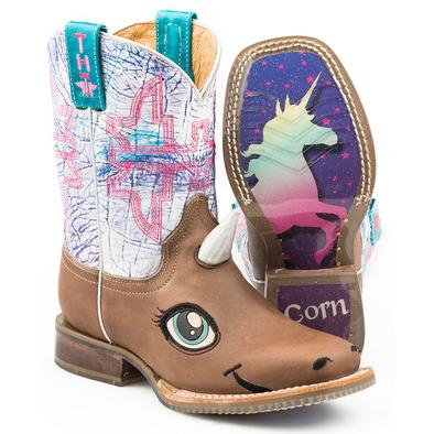 Tin Haul - Kids Unicorn Magic Boots at Buffalo Bills Western