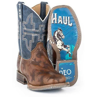 Tin Haul - Kids Rough Stock Boots at Buffalo Bills Western
