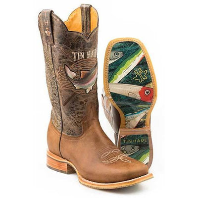 Tin Haul - Mens Alpha Angler Boots at Buffalo Bills Western