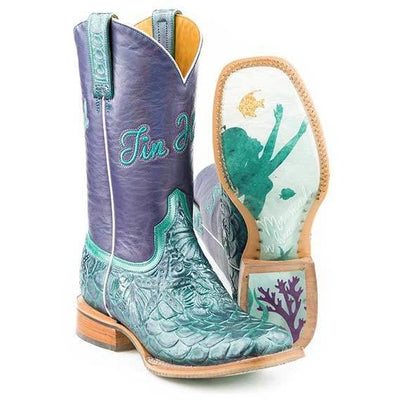 Tin Haul - Womens Under The Sea Boots at Buffalo Bills Western