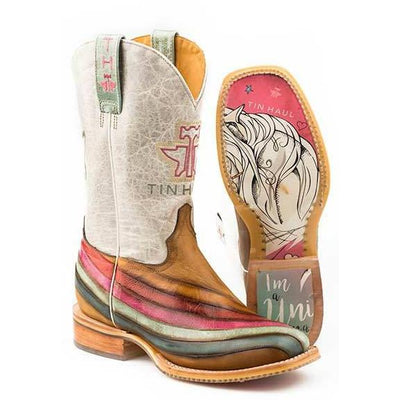 Tin Haul - Ladies Over The Rainbow Boots at Buffalo Bills Western