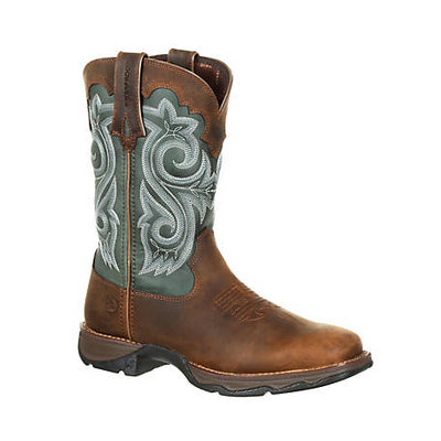 Durango - Womens Rebel Turquoise Waterproof Boots at Buffalo Bills Western