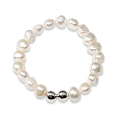 MCJ - Freshwater Pearl Stretch Bracelet at Buffalo Bills Western