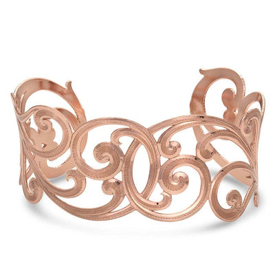 Montana Silversmith - Rose Filigree Cuff at Buffalo Bills Western