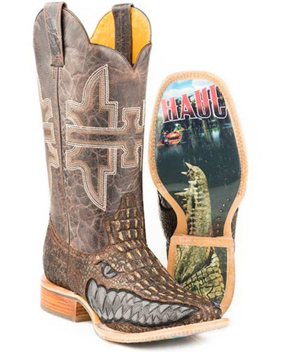 Tin Haul - Mens Swamp Chomp Boots at Buffalo Bills Western