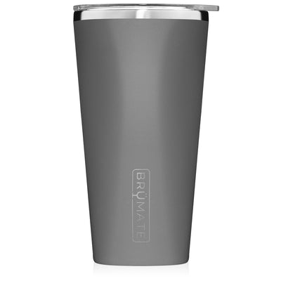 BruMate - IMPERIAL PINT 20OZ | MATTE GREY at Buffalo Bills Western