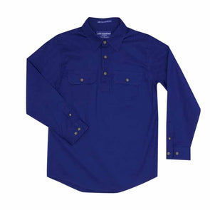 Just Country - Lachlan Cobalt Work Shirt Kids at Buffalo Bills Western