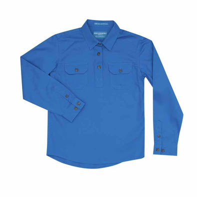 Just Country - Lachlan Blue Jewel Work Shirt Kids at Buffalo Bills Western