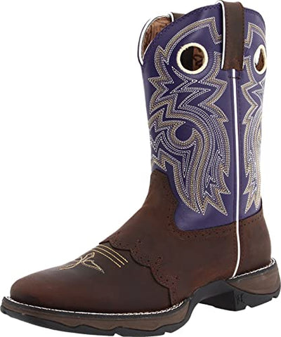 Durango - Womens Purple Rebel Twilight & Lace Boot at Buffalo Bills Western