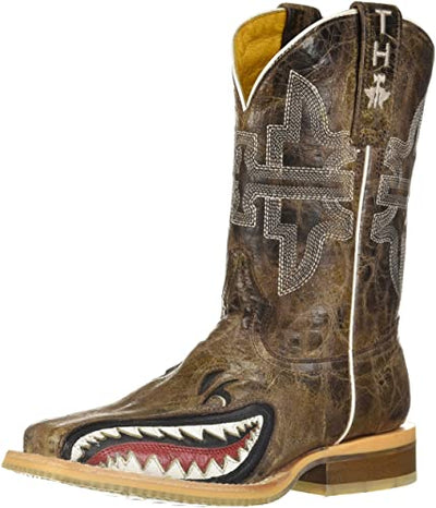Tin Haul - Kids Sharky Boots at Buffalo Bills Western