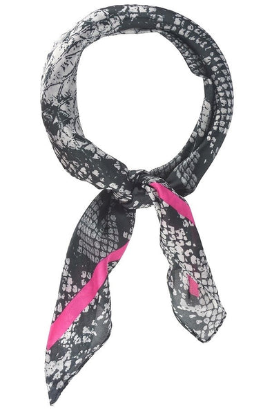 Snake Skin W/ Pink Wild Rag at Buffalo Bills Western