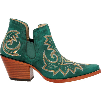 Durango - Womens Turquoise Crush Booties at Buffalo Bills Western