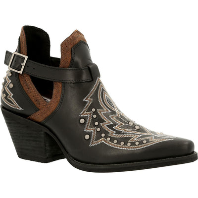 Durango - Womens Black Crush Booties at Buffalo Bills Western