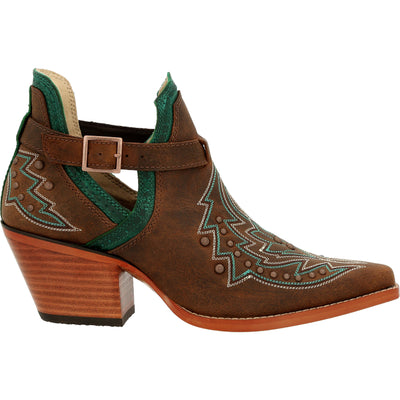 Durango - Womens Brown Crush Booties at Buffalo Bills Western