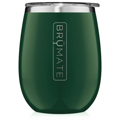 BruMate - UNCORK'D XL 14OZ WINE TUMBLER | EMERALD GREEN at Buffalo Bills Western