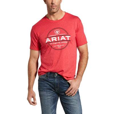 Ariat - Mens Incremental T-Shirt at Buffalo Bills Western