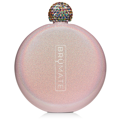 BruMate - GLITTER FLASK | BLUSH at Buffalo Bills Western