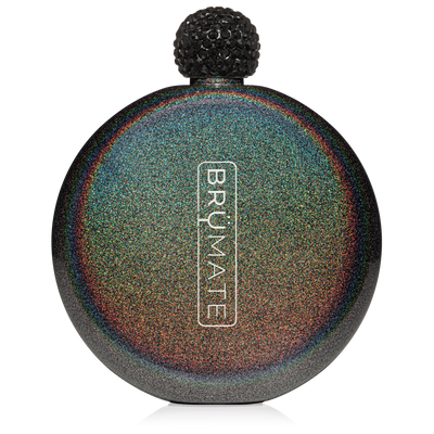 BruMate - GLITTER FLASK | CHARCOAL at Buffalo Bills Western